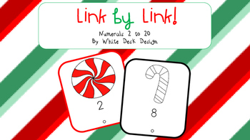 Counting Link by Link {Christmas Theme}