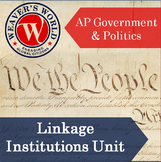 Linkage Institutions Unit Materials for AP Government and