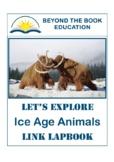 Linked Lapbook ~ Ice Age Animals