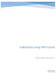 Linked Lists using PHP classes