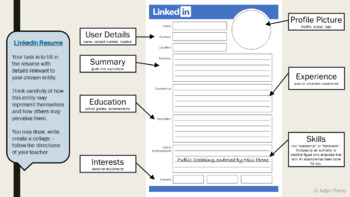LinkedIn Resume Template & Presentation