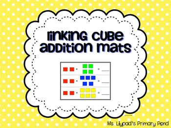 Addition Mats for Adding Within 10