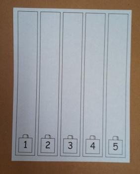 Linking Cube Math Worksheet 1-5