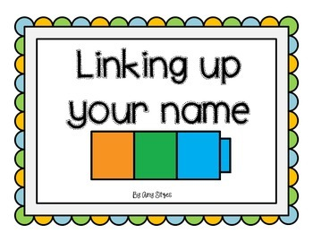 Linking Cube Name Activity