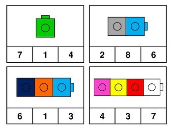 Count and Clip Task Cards 1-10 FREEBIE