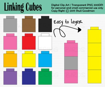 Linking Cube clip art - Uni... by CloudySkiesSunnyMoments Shuli ...