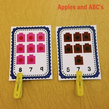Linking Cubes Centers: Counting and Sorting