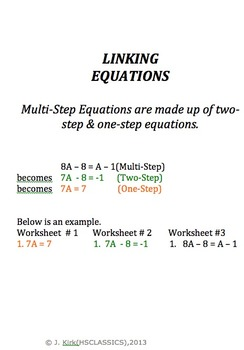 Linking Equations