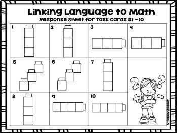 Linking Language to Math