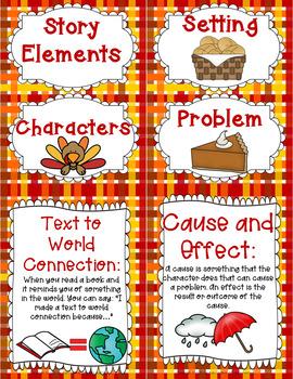Linking Literature: A Turkey for Thanksgiving Grades 1-3