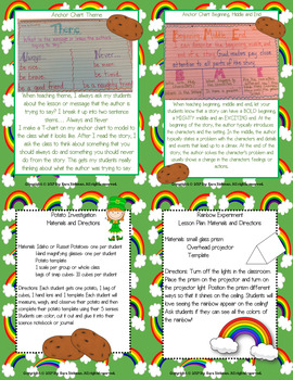 Linking Literature: Jamie O'Rourke and the Big Potato Grades 1-3