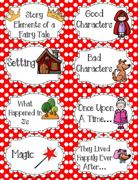 Linking Literature: Little Red Riding Hood