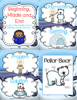 Linking Literature: The Three Snow Bears Grades 1-3