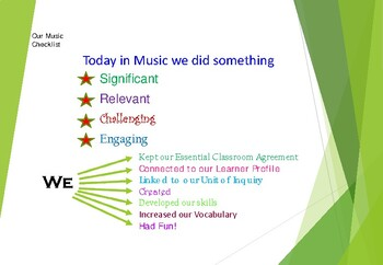 Linking Music to the PYP