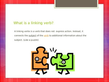 Linking Verb-were