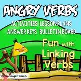 Linking Verbs Fun with Angry Birds Activities, Bulletin Bo