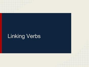 Linking Verbs Mini Lesson