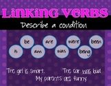 Linking Verbs Poster