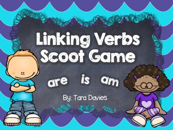 Linking Verbs Scoot Game