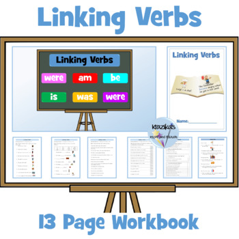 Linking Verbs: Set of 7 Worksheets