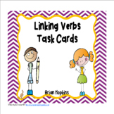 Linking Verbs Task Cards #TPTfireworks