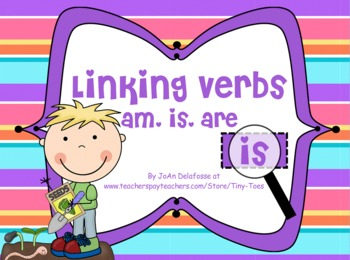 Linking Verbs am, is, are SPRING Theme for SMARTBOARD - Co