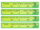 Linking Verbs - is, am, are