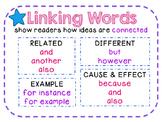 Linking Words ELA Anchor Poster