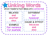 Linking Words ELA Anchor Poster