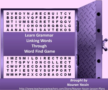 Linking Words (Word Find Game)
