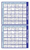 Linking Words and Connectors Spanish Battleship Board Game
