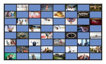 Linking Words and Connectors Spanish Legal Size Photo Checkers Game