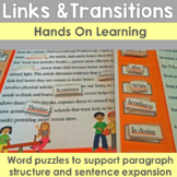 Linking Words and Transition Words: Hands on Learning