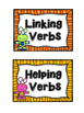 Linking and Helping Verbs Sort