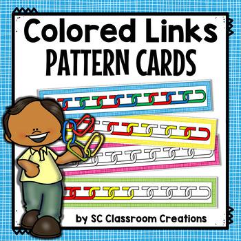 Links Pattern Cards (Task Cards)