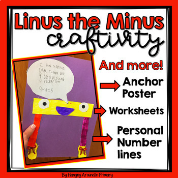 Subtraction Craftivity ~ Linus the Minus