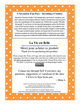 L'Invention d'un Pays – Inventing a Country