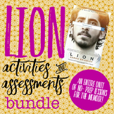 Lion (A Long Way Home) Activities and Assessments Bundle