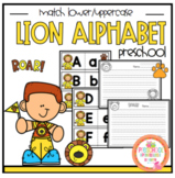 Lion Alphabet Cards