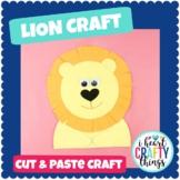 Lion Animal Craft