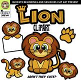 Lion Clip Art {Squishies Clipart}