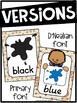 Lion Color Posters | Lion Classroom Decor