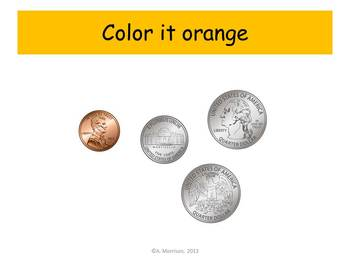 Lion Counting Coins Practice - Watch, Think, Color!