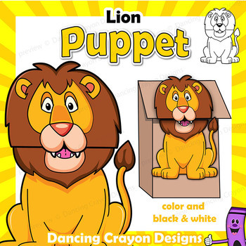Lion Craft Activity | Paper Bag Puppet