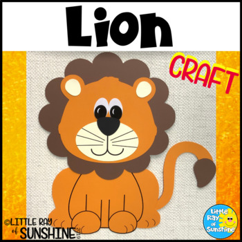 Lion Craft for Jungle or Zoo