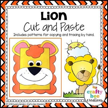 Lion Cut and Paste