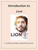 Lion: Film Introduction Activity