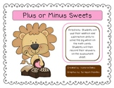 Lion Heart Sweets Valentine Math and Literacy Activities