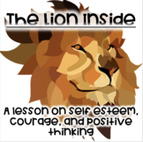 Lion Inside- Book companion/lesson on self esteem, courage