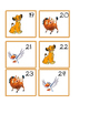 Lion King Calendar Cards